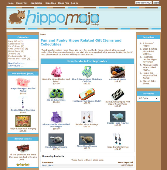 Hippo Mojo screen shot